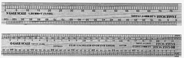 model railroad scale ruler 6 ehobbytools. Black Bedroom Furniture Sets. Home Design Ideas