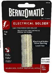 Bernzomatic Electrical Solder