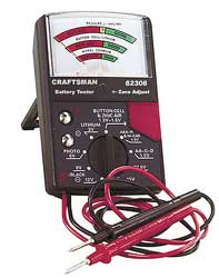 Sears Battery Tester