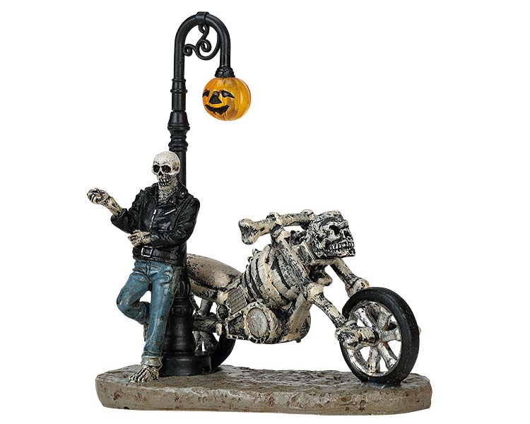 Lemax Spooky Town Bad To The Bone # 72491