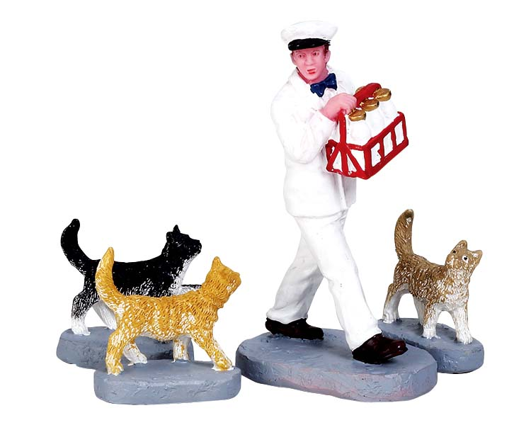Lemax Village Collection Merry Milkman Set of 4 # 72511