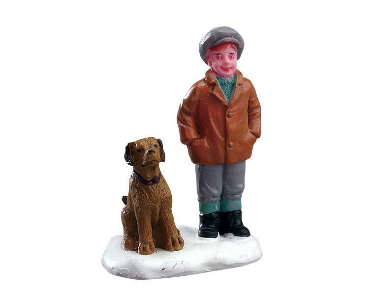 Lemax Village Collection Boy's Best Friend # 72517