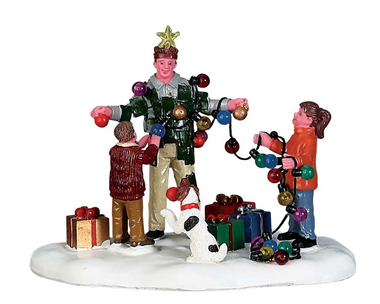 Lemax Village Collection Christmas Tree Dad # 73308