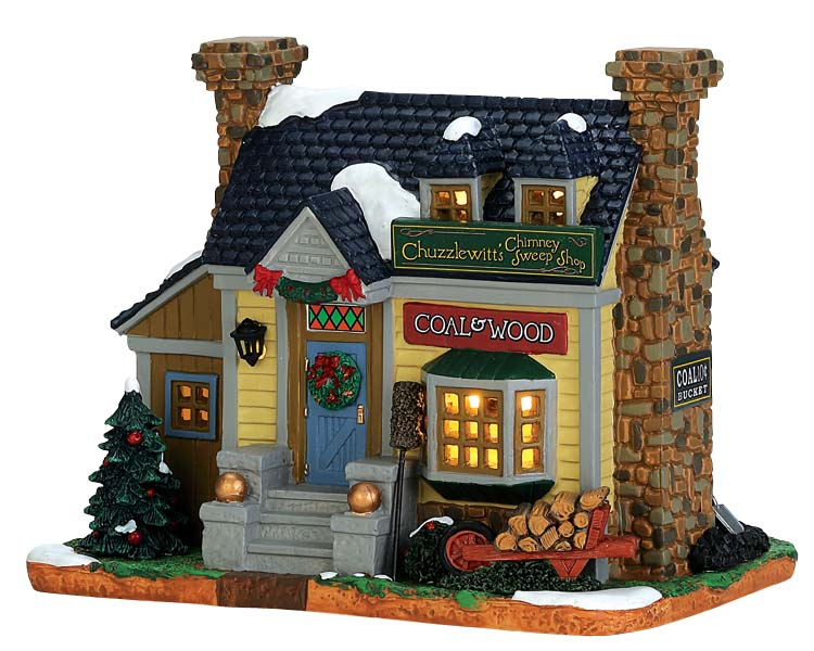Lemax Village Collection Chuzzlewitt's Chimney Sweep Shop # 75249