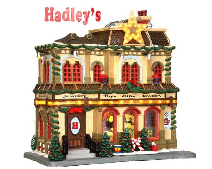 Hadley S Department Store 35496 Lemax Village Ehobbytools