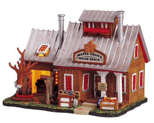 Maple Grove Sugar Shack 55235 Lemax Village Ehobbytools