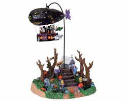 Lemax Spooky Town Dreaded Zeppelin with Adaptor # 04174