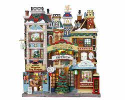 Lemax Village Collection Christmas Lane Facade # 05104