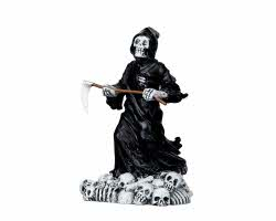 Lemax Spooky Town Deadly Grim Reaper # 12890