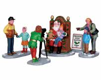 Lemax Village Collection Photos with Santa Set of 5 # 22032