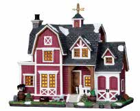 Lemax Village Collection Barn House # 25356
