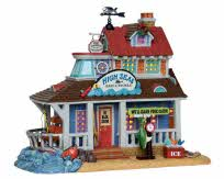 Lemax Village Collection High Seas Bait and Tackle # 25361