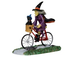 Lemax Spooky Town Be-Witching Bike Ride # 32109