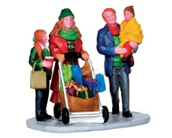 Lemax Village Collection Christmas Shopping With Mom And Dad # 32152
