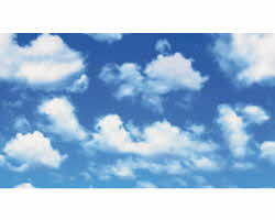 Lemax Village Collection Sky Backdrop 4 Foot # 34973