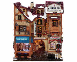 Lemax Village Collection A Taste Of Italy Facade # 35855