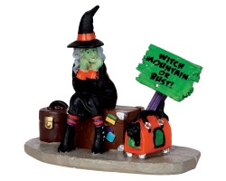 Lemax Spooky Town Stranded Witch # 42204