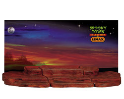 Lemax Spooky Town 3-Foot Display Material - Halloween # 44808