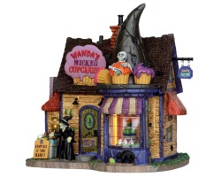 Lemax Spooky Town Wanda's Wicked Cupcakes # 55915
