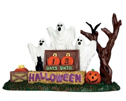 Lemax Spooky Town Halloween Countdown # 63264
