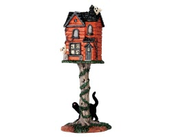 Lemax Spooky Town Haunted Birdhouse # 64051