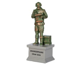 Lemax Village Collection Park Statue Shakespeare # 64075