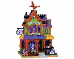 Lemax Spooky Town Agatha's Costume Crypt with Adaptor # 75494