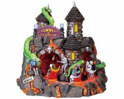Lemax Spooky Town Tunnel Of Terror with Adaptor # 84771