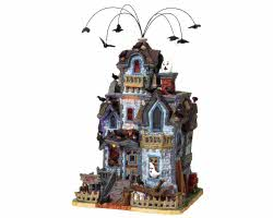 Lemax Spooky Town Abandoned House with Adaptor # 85665