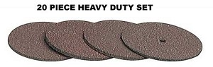 Cut Off Disks Heavy Duty 20 Count Pack