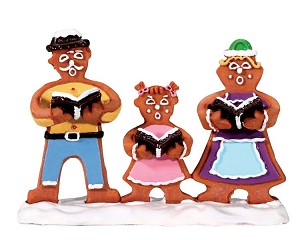 Lemax Village Collection Gingerbread Carolers # 62469