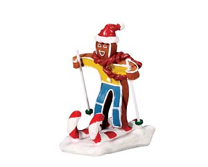 Lemax Village Collection Candy Cane Skier # 72484