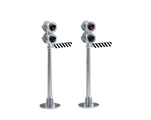 Lemax Village Collection Railway Semaphore Signal Light Set of 2 # 74279