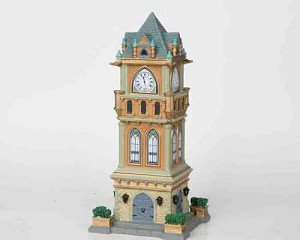Lemax Village Collection Municipal Clock Tower # 05007