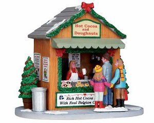 Lemax Village Collection Hot Cocoa Stand # 13906