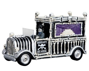 Lemax Spooky Town Hearse Of Bones # 63266