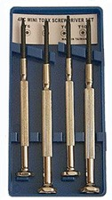Mini Torx 4 Piece Set