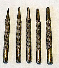 Center Punch 5 Piece Set
