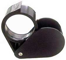 Magnifying Loupe 2 inch 5x