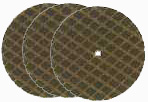 1 1/4 inch Cut Off Disks - 3 pack