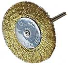 Large Brass Wire Wheels 1 1/2 inch