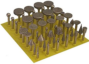 Diamond Burs 50 Pieces