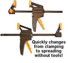 Quick Ratcheting Clamp 6 inch