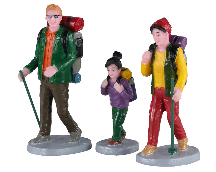 Lemax Village Collection Family Trek Set of 3 # 02936