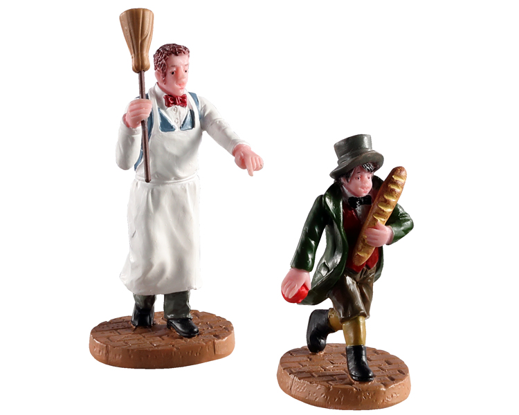 Lemax Village Collection Artful Dodger Set of 2 # 02947