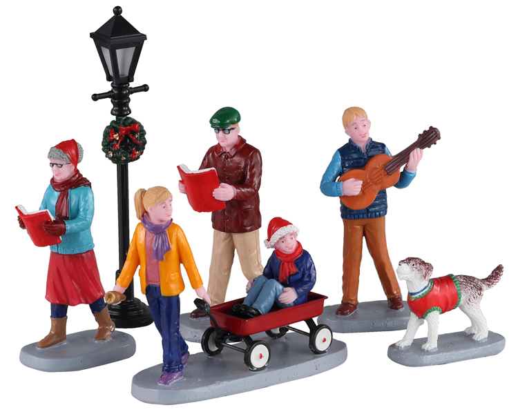Lemax Village Collection Merry Songs Set of 6 # 02955
