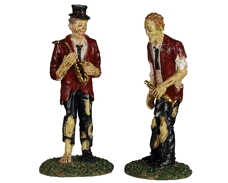 Lemax Spooky Town A Chilling Band Of Two Set of 2 # 02958