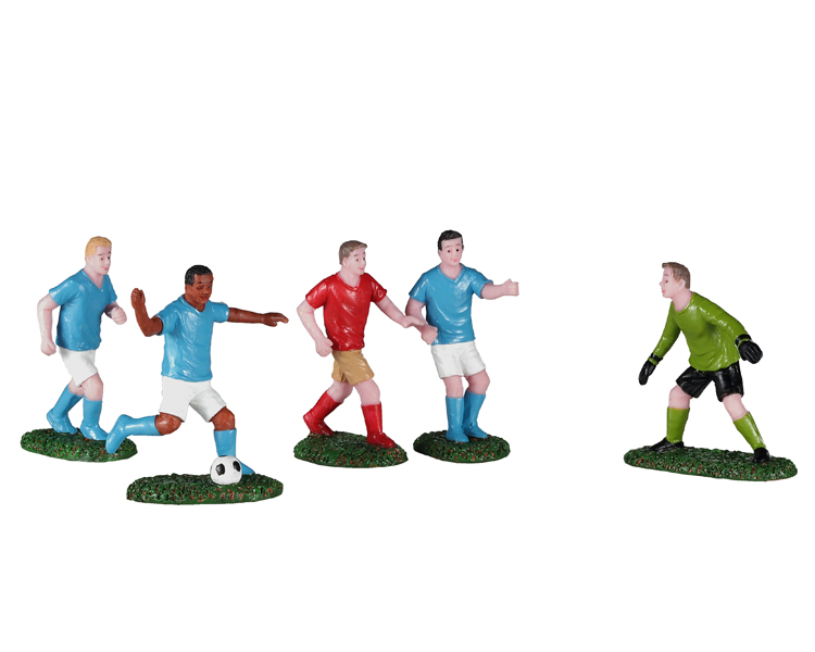 Lemax Village Collection Soccer Practice Set of 5 # 02962