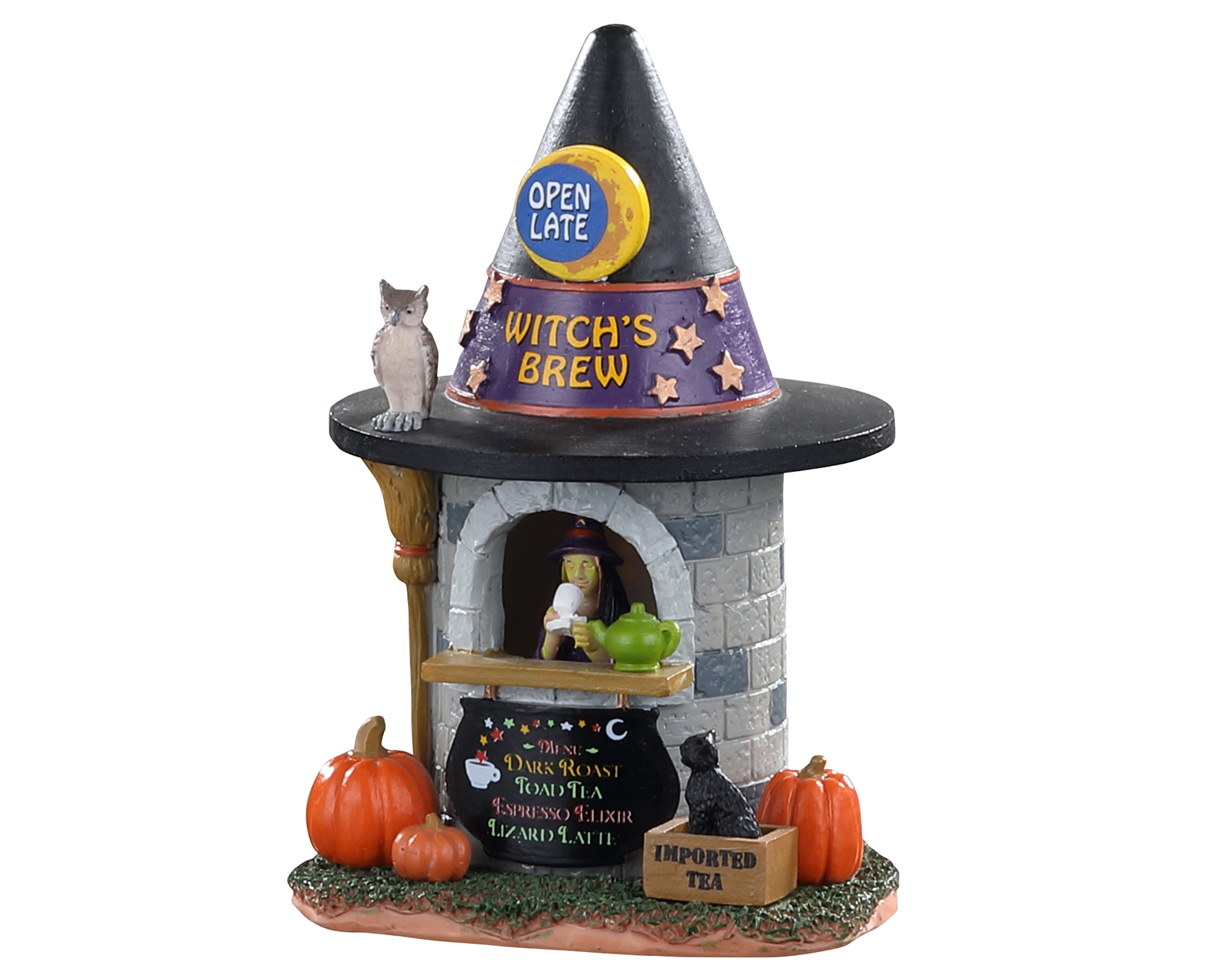 Lemax Spooky Town Witch's Brew Coffee # 03506