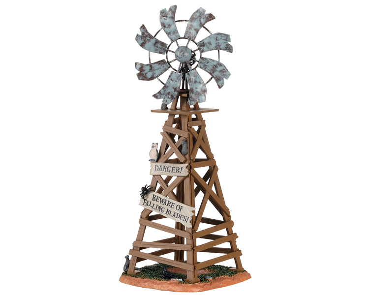 Lemax Spooky Town Spooky Windmill # 03508